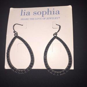 Lia Sophia Teardrop earrings